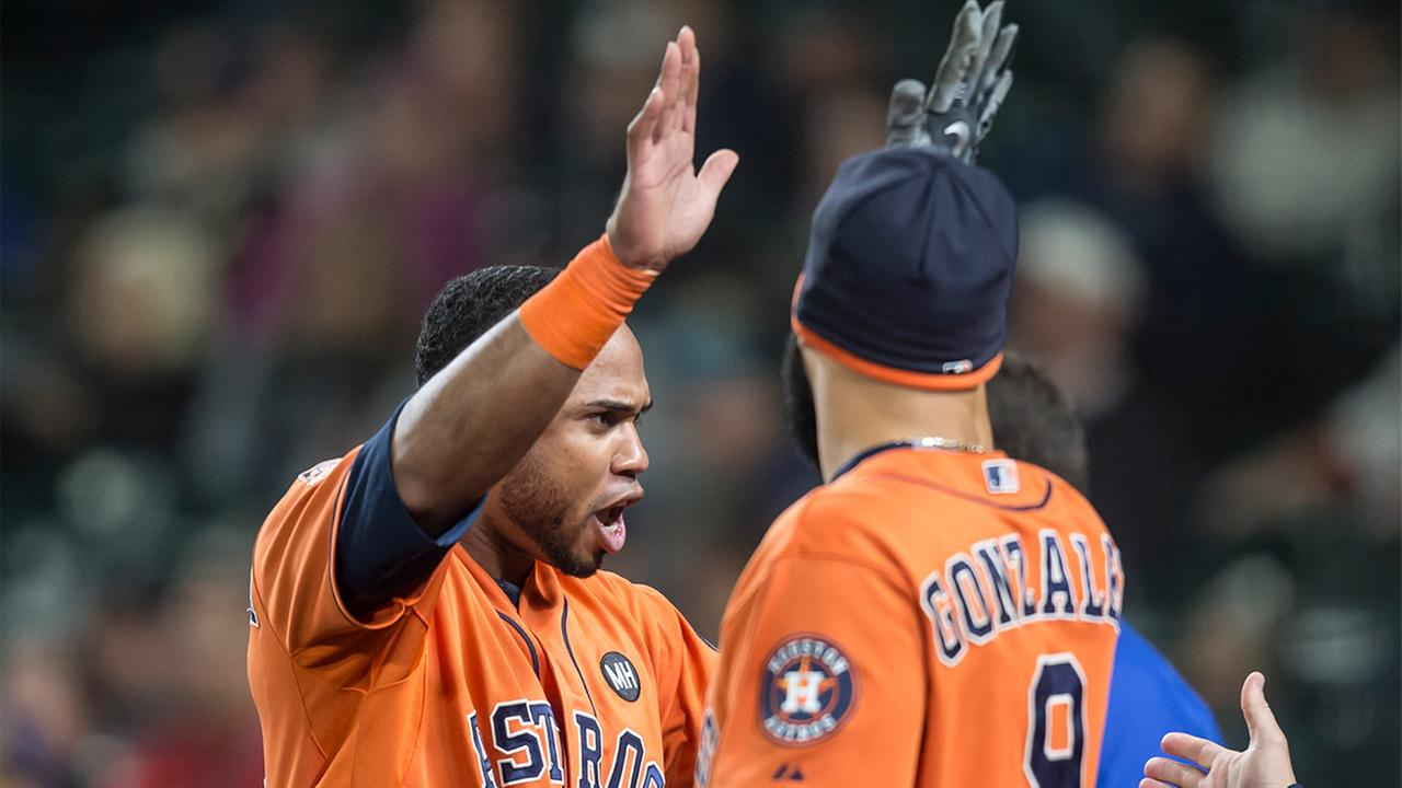 Houston Astros Luis Valbuena