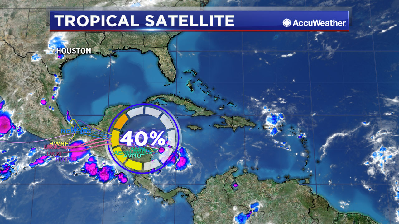 DAILY TROPICAL UPDATE: Deep moisture heading for the western Gulf