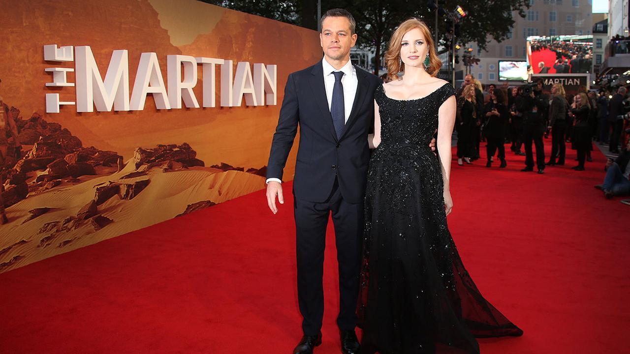 The Martian premiere