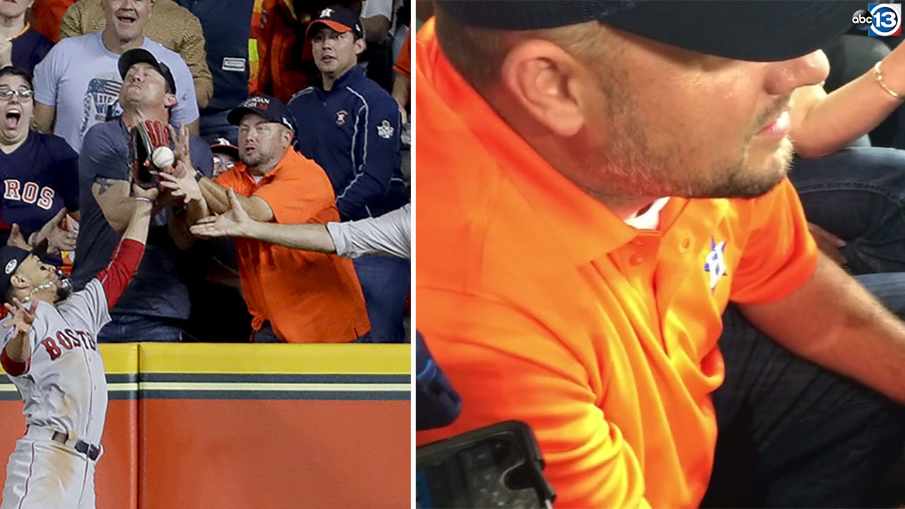 Houston Astros denied 2-run homer by Jose Altuve after controversial fan interfe...