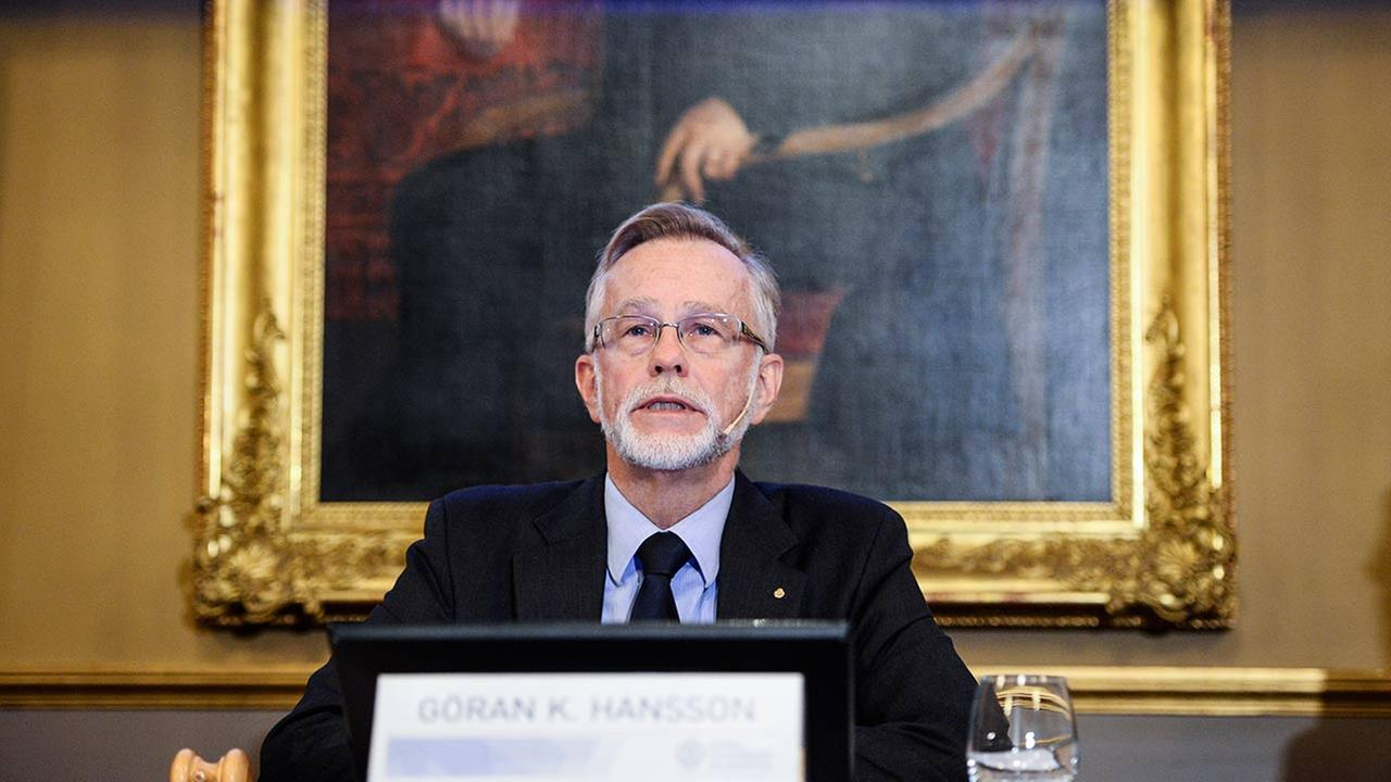 Goran K. Hansson, Permanent Secretary for the Royal Swedish Academy of Sciences