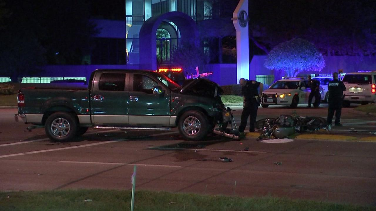 Motorcyclist killed in accident in NW Houston