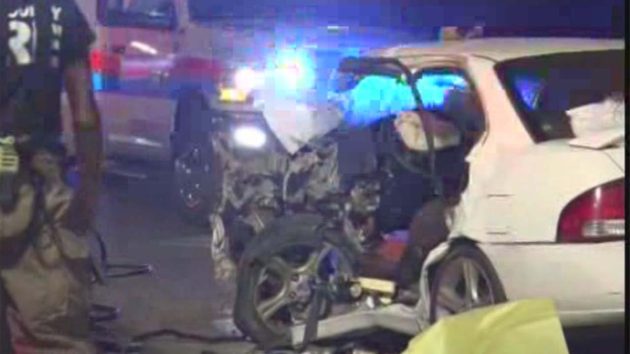FM 1485 car accident