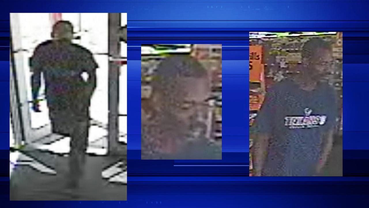 Suspect seen in surveillance video