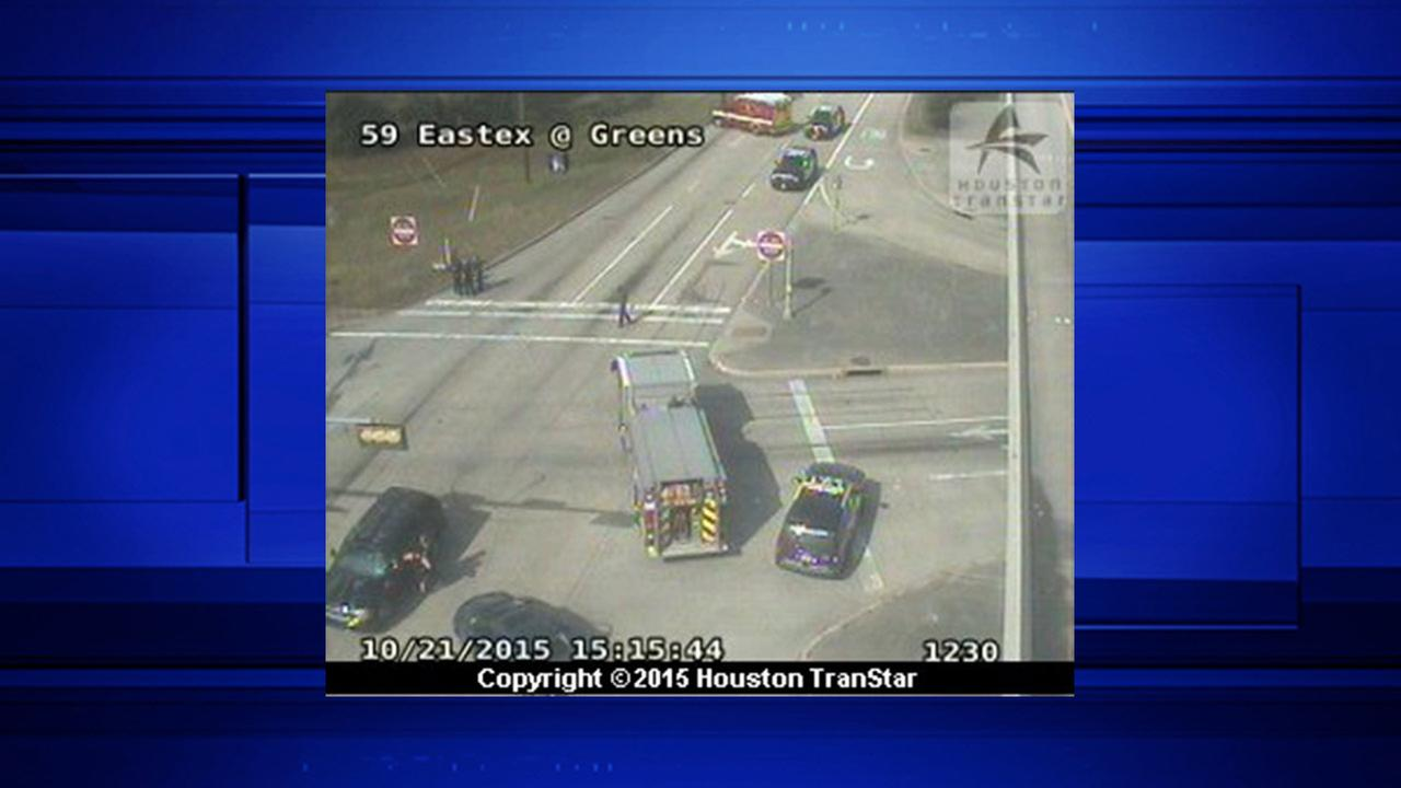 1 dead in accident on Eastex Freeway at Greens