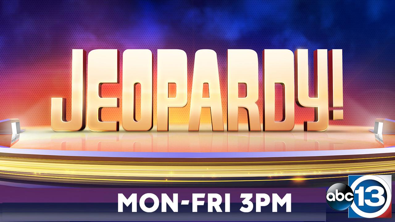 Jeopardy! on ABC-13 Mon-Fri 3PM