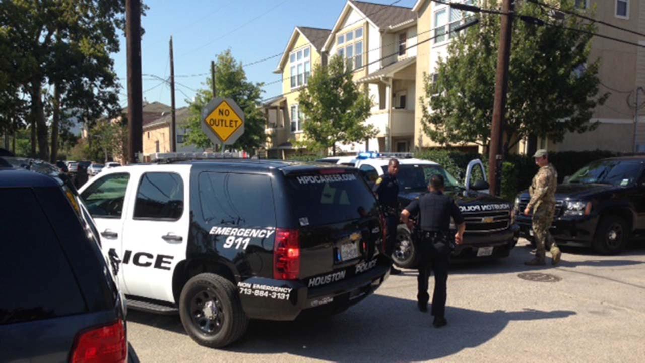 SWAT standoff in northwest Houston