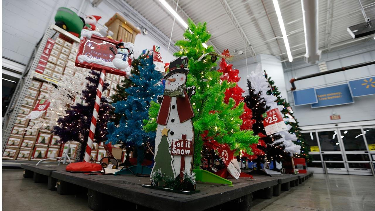 Walmart Christmas decorations