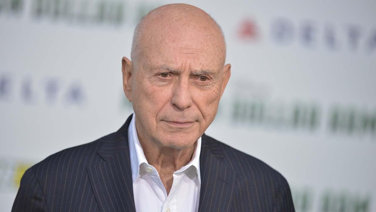 Alan Arkin arrives at the world premiere of Million Dollar Arm in Los Angeles