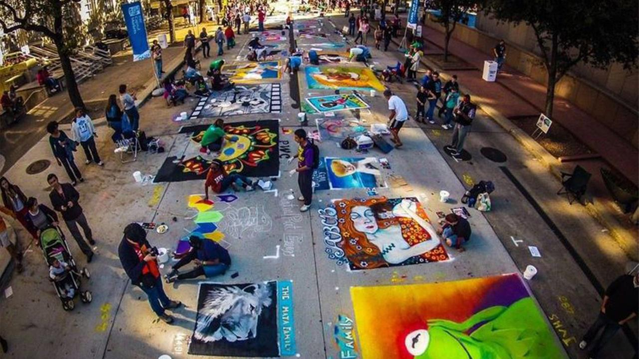 The Center for Hearing and Speech will be producing their 10th annual Houston Via Colori Street Painting Festival. The free two-day event will be taking place 11/21-11/22.