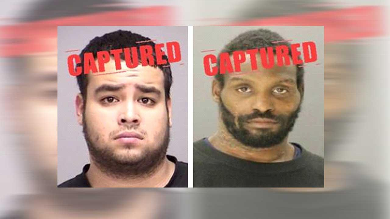 Two fugitives on the Texas 10 Most Wanted Fugitives list captured