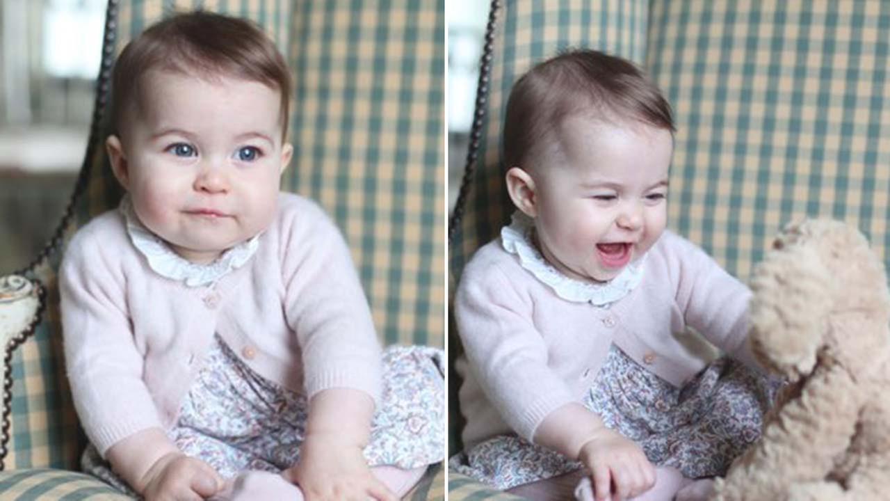 Princess Charlotte at 6 months old