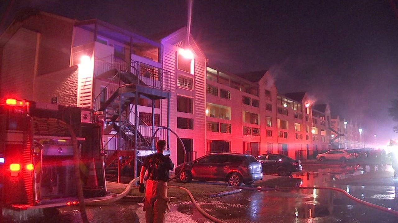 7979 Westheimer Apartments fire