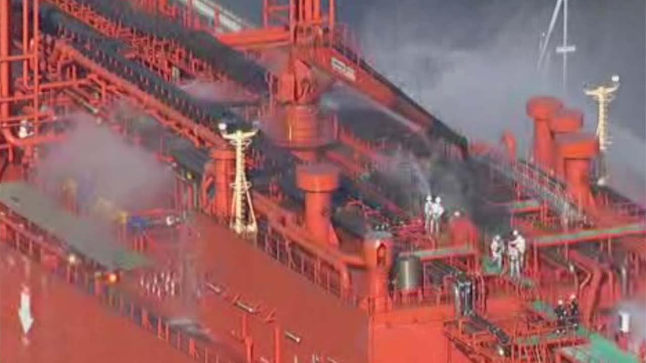 Flames over Houston Ship Channel