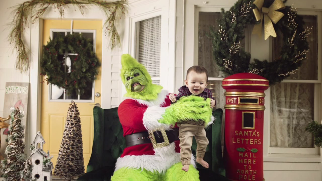 The Grinch that stole our hearts!