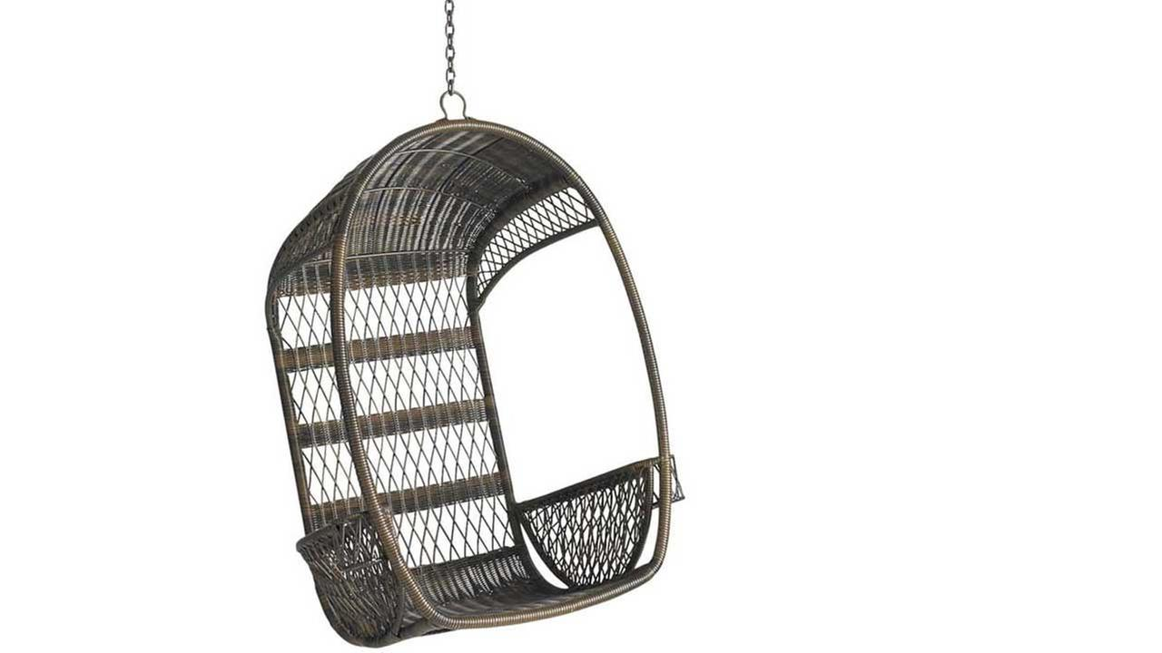 Pier 1 recalls 260,000 outdoor swing chairs in the U.S. due to fall risk