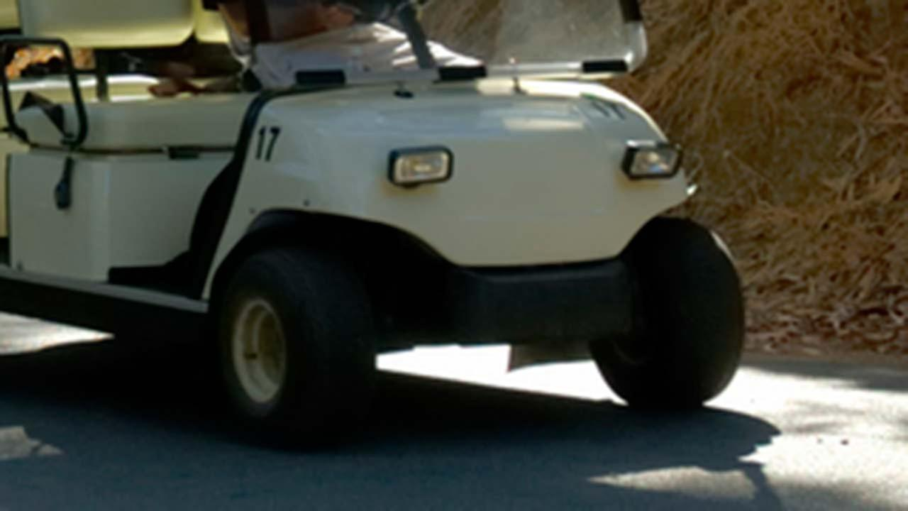 Girl, 6, dies in golf cart accident near Trinity
