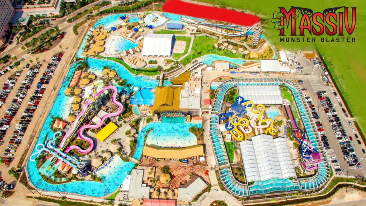 Schlitterbahn Galveston to open world's largest water 'roller