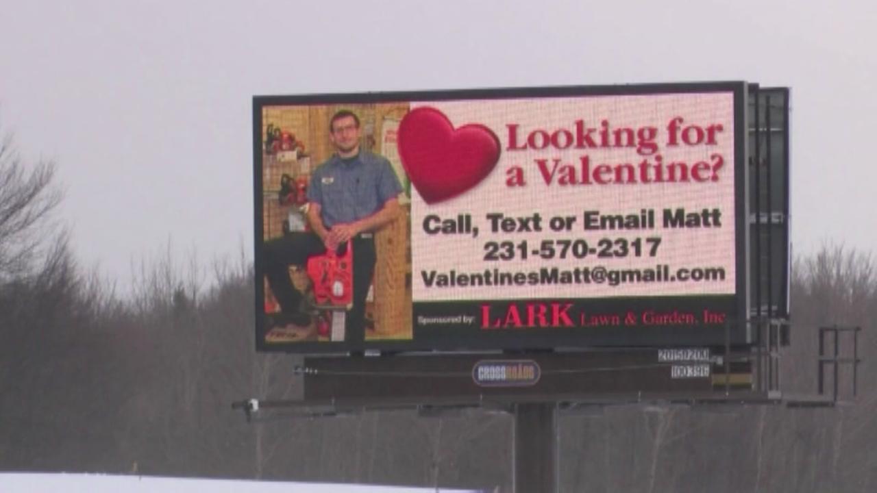 Valentines Day Billboard