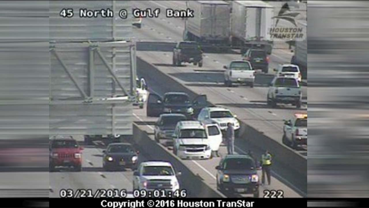 North Freeway wreck
