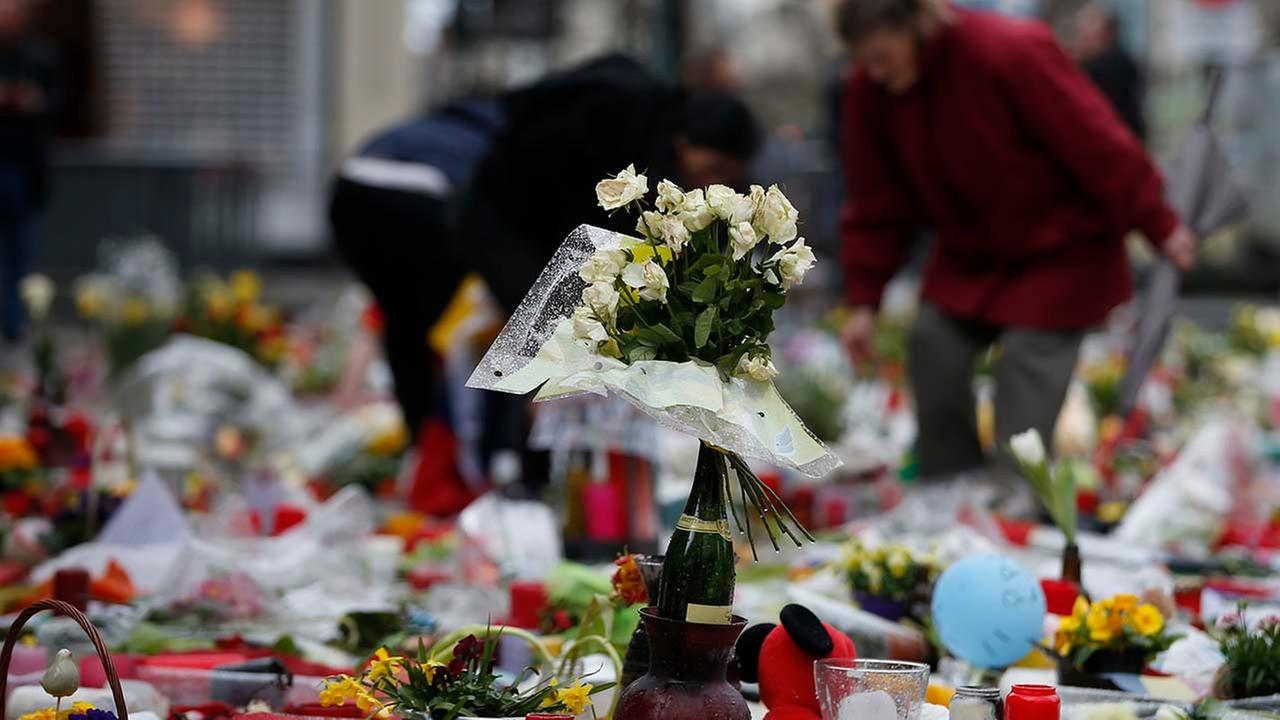 The Latest: Belgium: 4 wounded have died, 35 victims in all