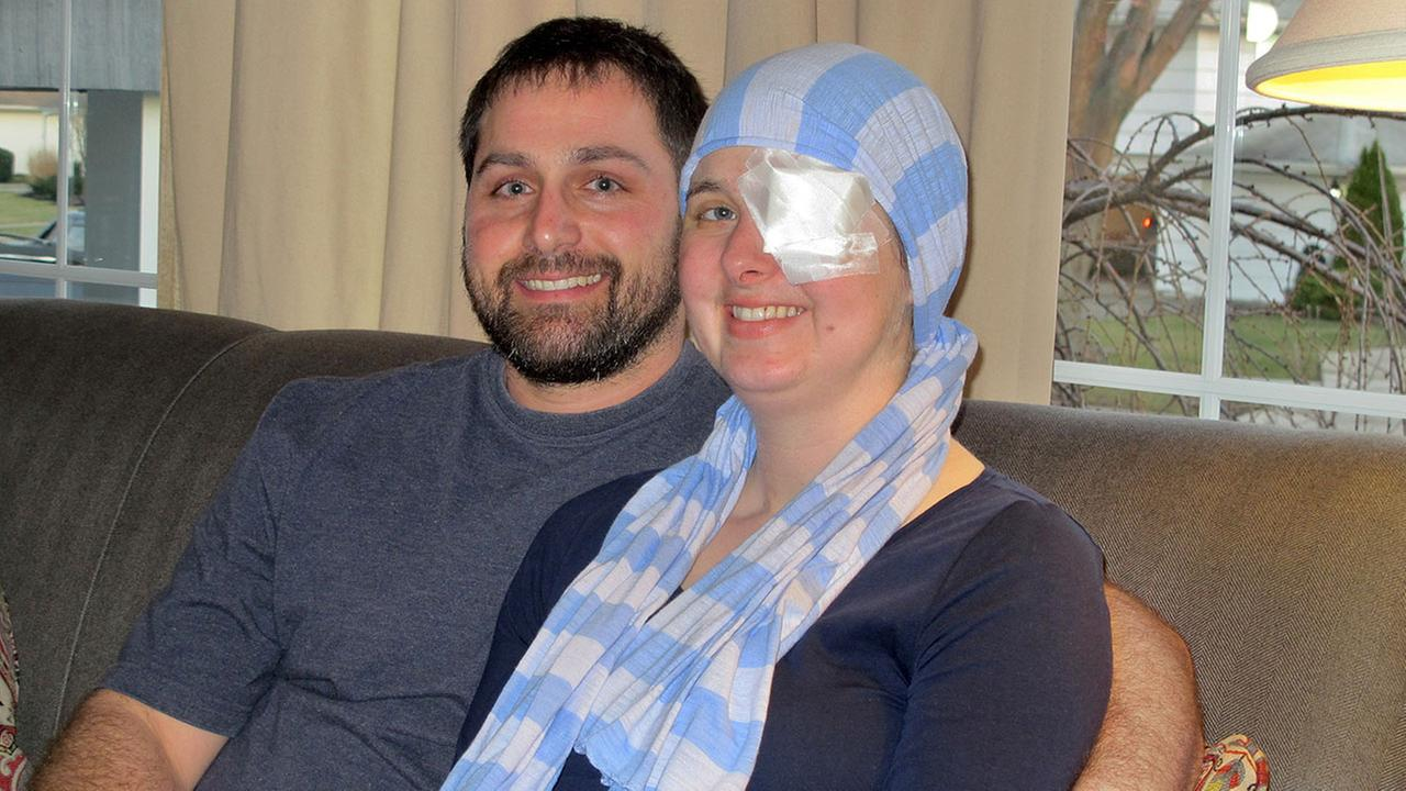 Shortly after learning she was pregnant, Kim was diagnosed with aggressive brain cancer, and was rushed into surgery to remove two tumors that doctors said could have killed her.