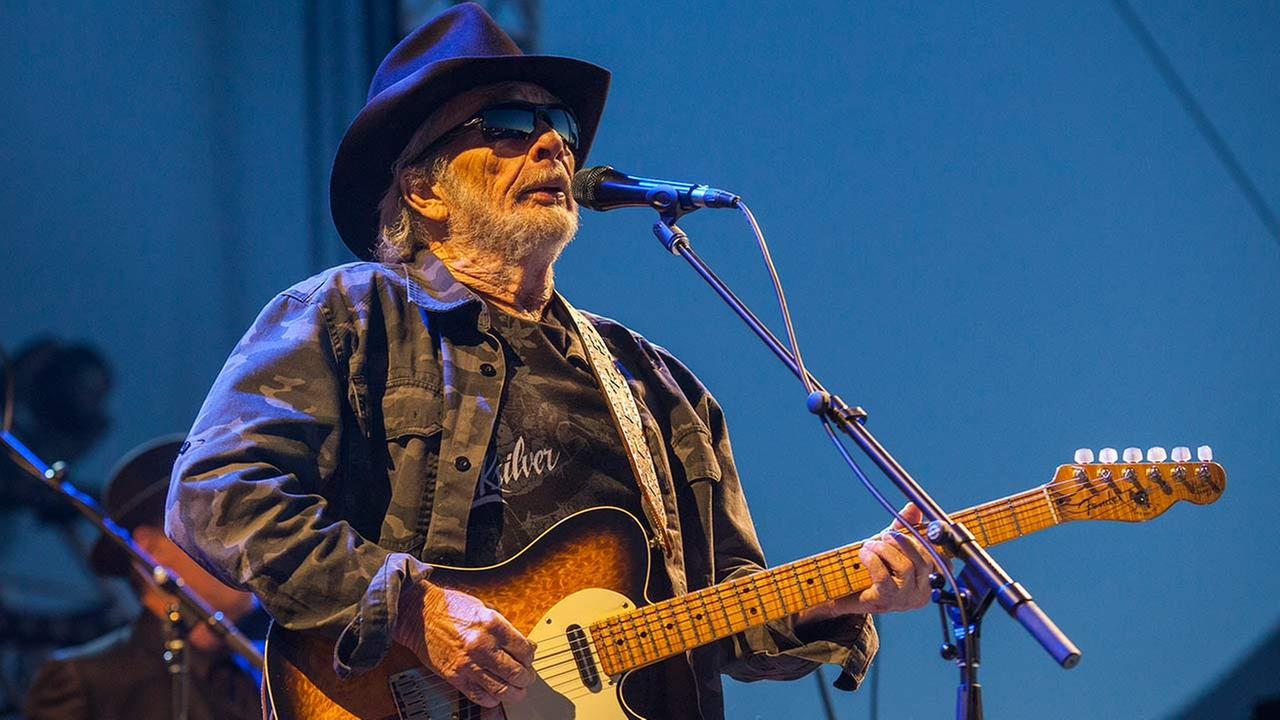 Merle Haggard seen at Riot Fest and Carnival in Douglas Park on Saturday, Sept. 12, 2015 in Chicago.
