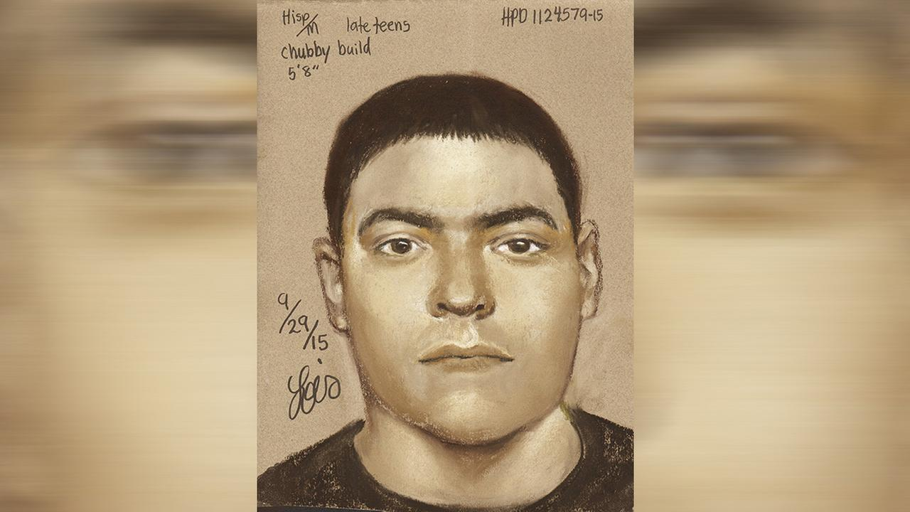 An unidentified suspect in an aggravated robbery