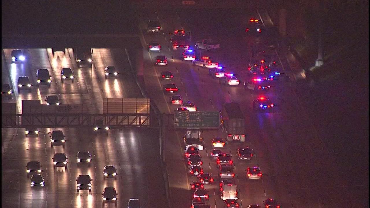 TRAFFIC ALERT: Katy Freeway inbound delays after 2-vehicle accident
