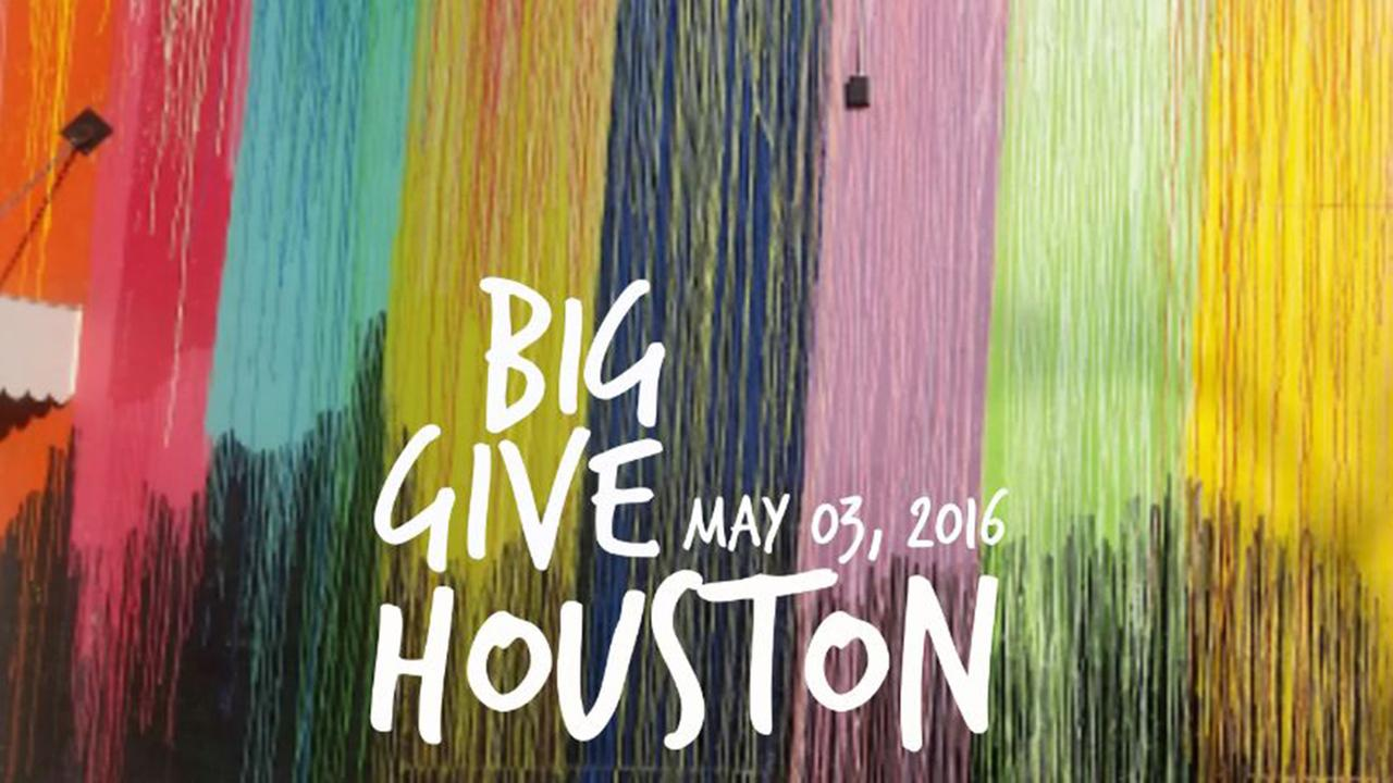 Give to your favorite organizations with #BigGiveHouston
