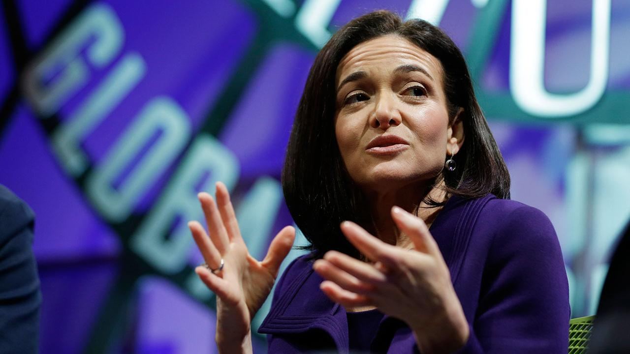 Facebook chief operating officer Sheryl Sandberg during a discussion called The Now and Future of Mobile at the Fortune Global Forum Tuesday, Nov. 3, 2015, in San Francisco.