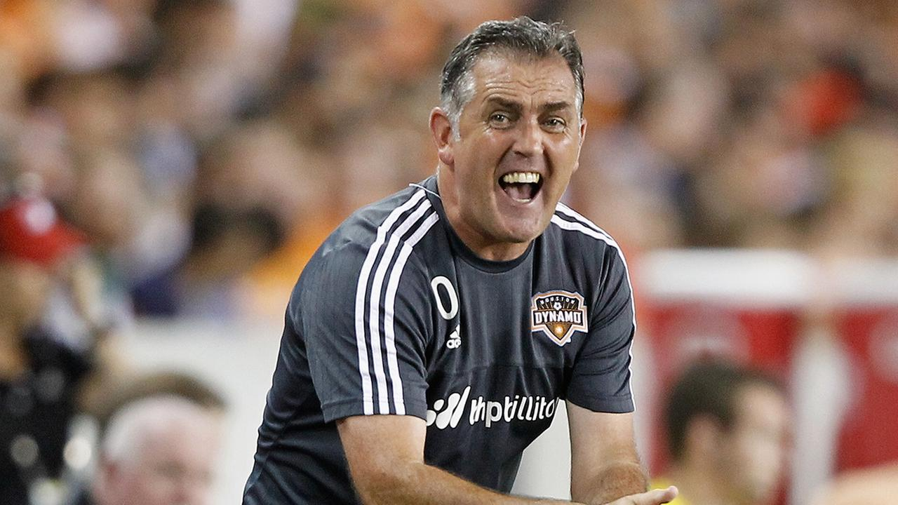 Houston Dynamo head coach Owen Coyle