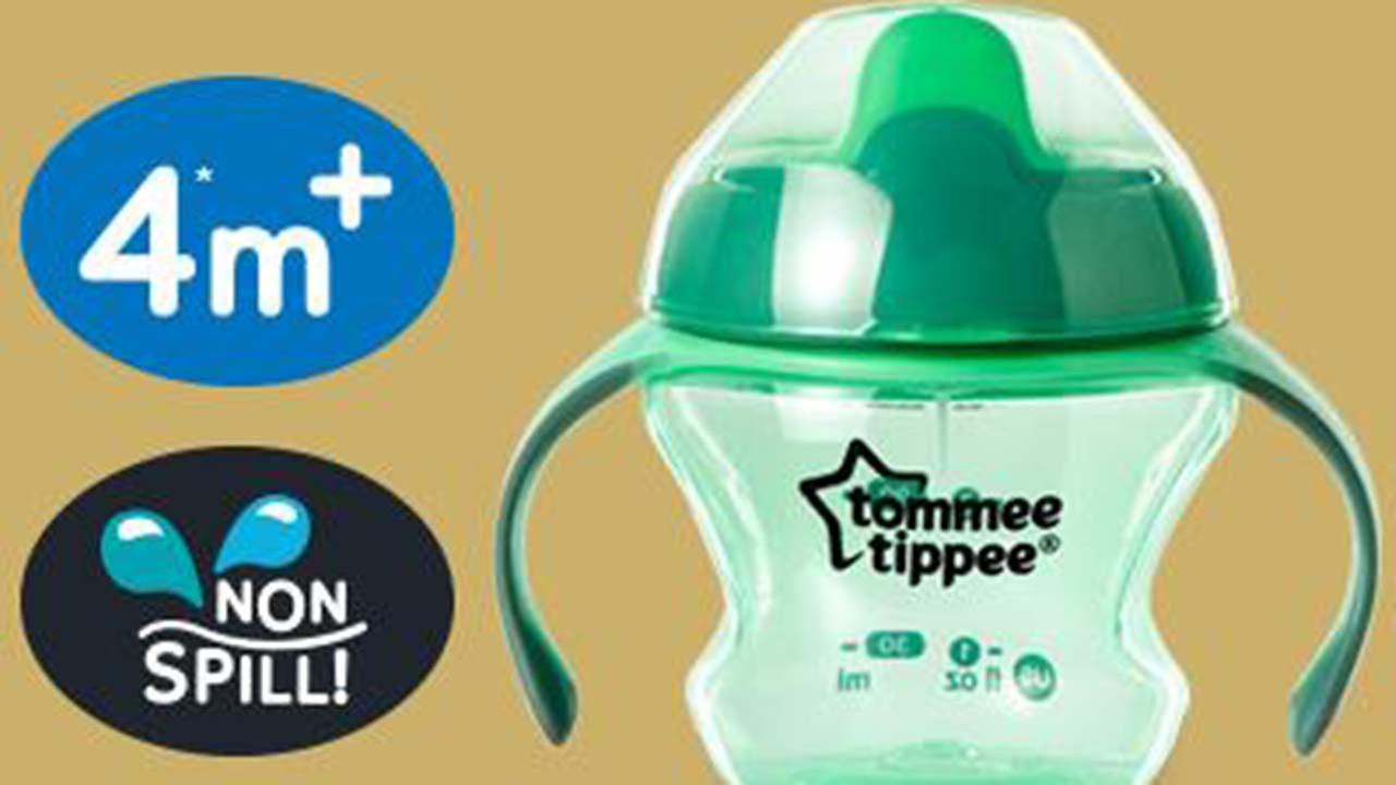 Millions of spill-proof sippy cups recalled due to mold risk