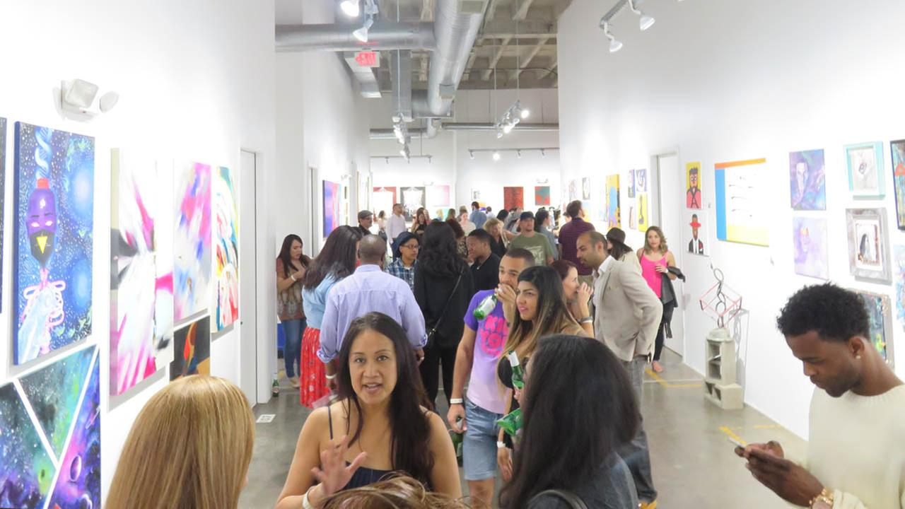Chocolate and Art Show in Houston