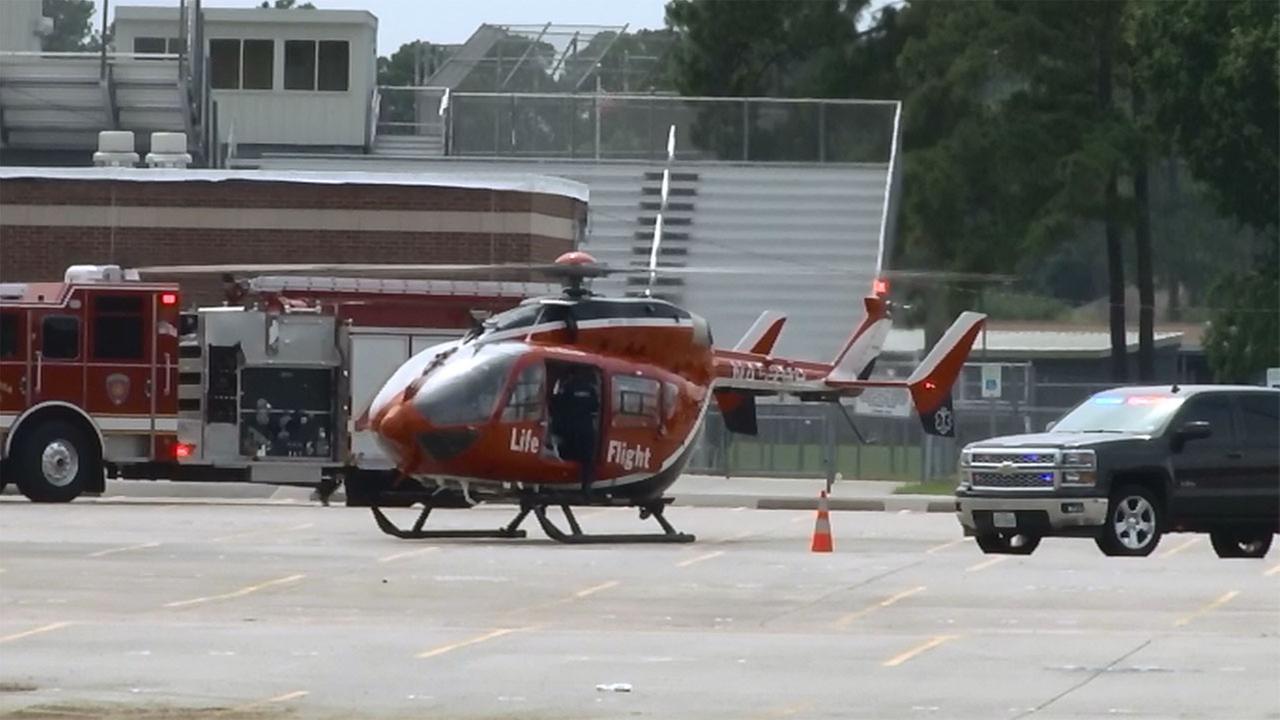 Student injured at Schindewolf Intermediate School