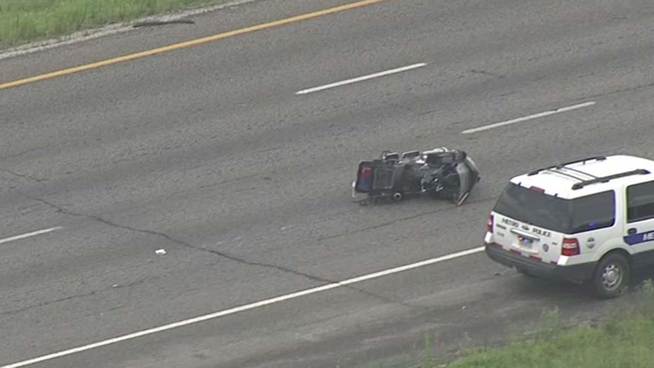 SB lanes of Highway 288 reopen hours after wreck involving officer