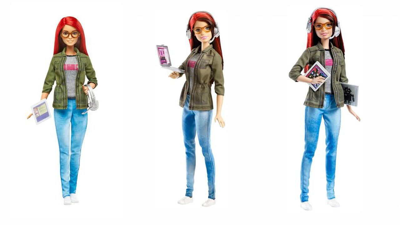 Barbie adds game developer to her resume