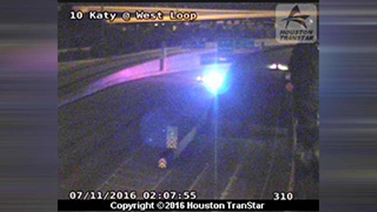 Katy Freeway motorcycle accident