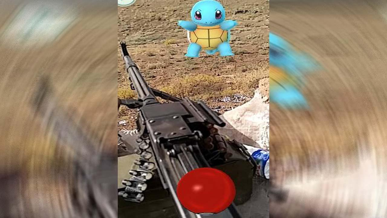 Ex-Marine hunts for Pokemon and ISIS in Iraq