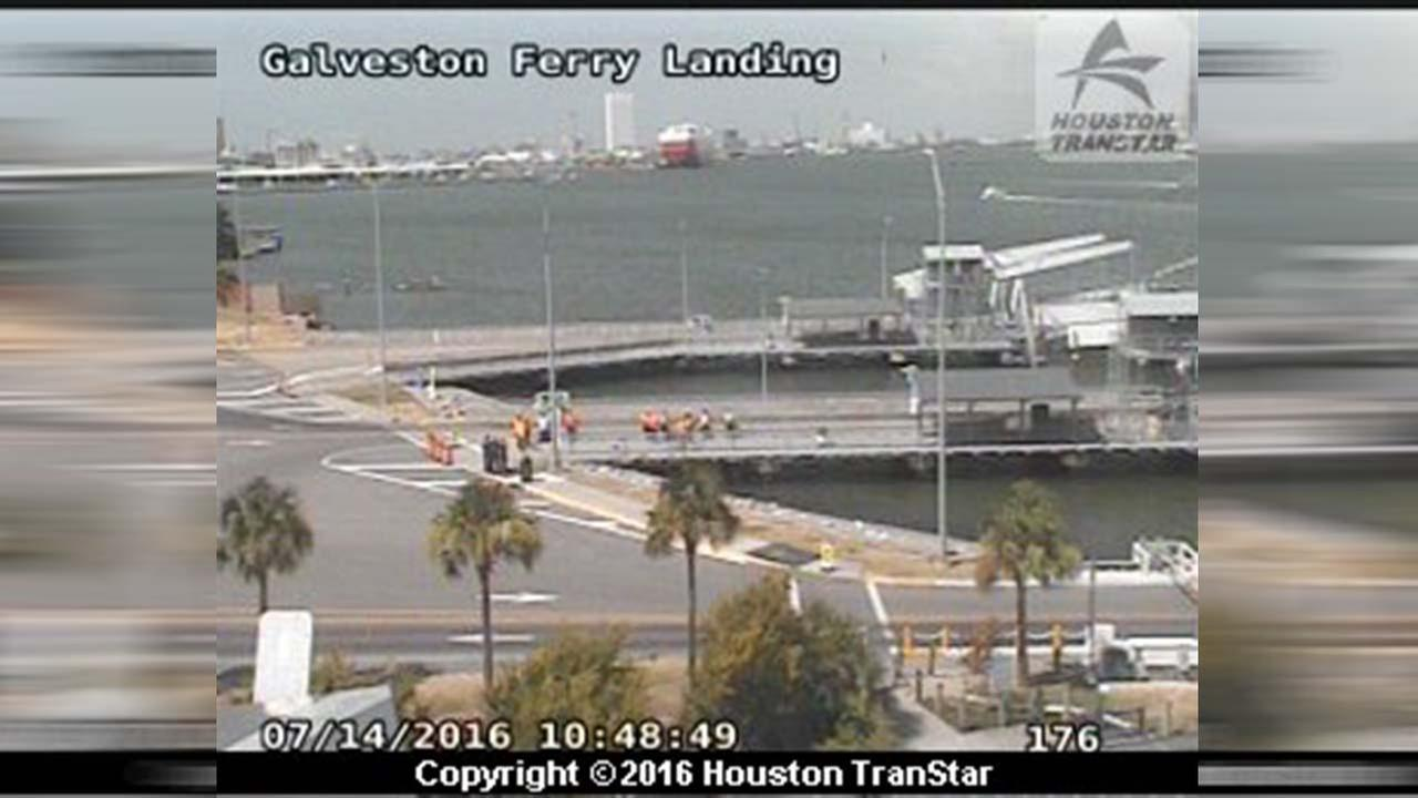 Galveston Ferry reopens after suspicious package found