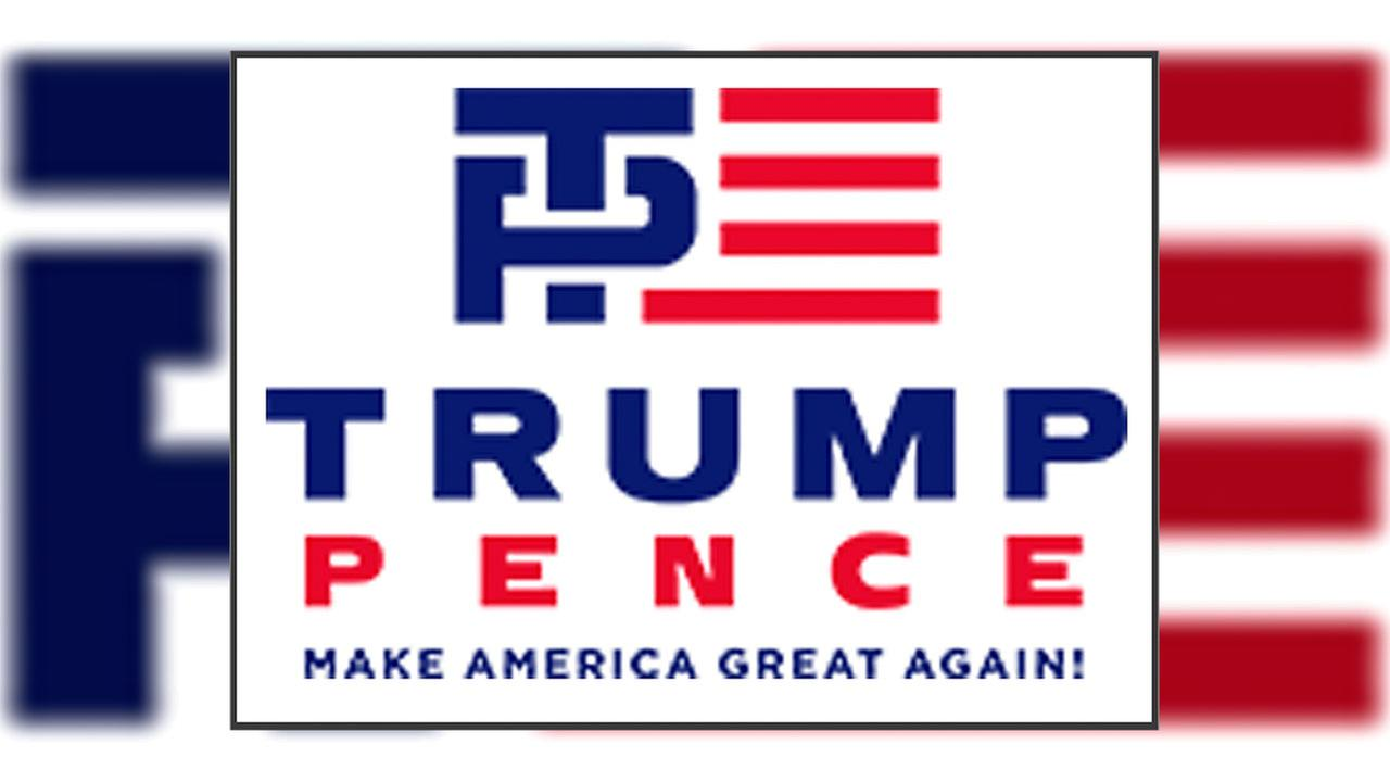 Web denizens are reacting viscerally to the Trump-Pence campaign logo.