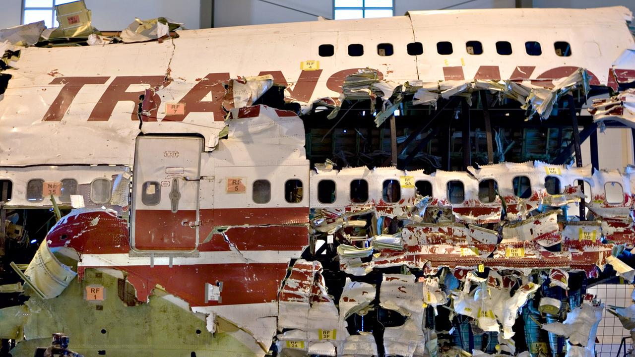 TWA Flight 800 wreckage