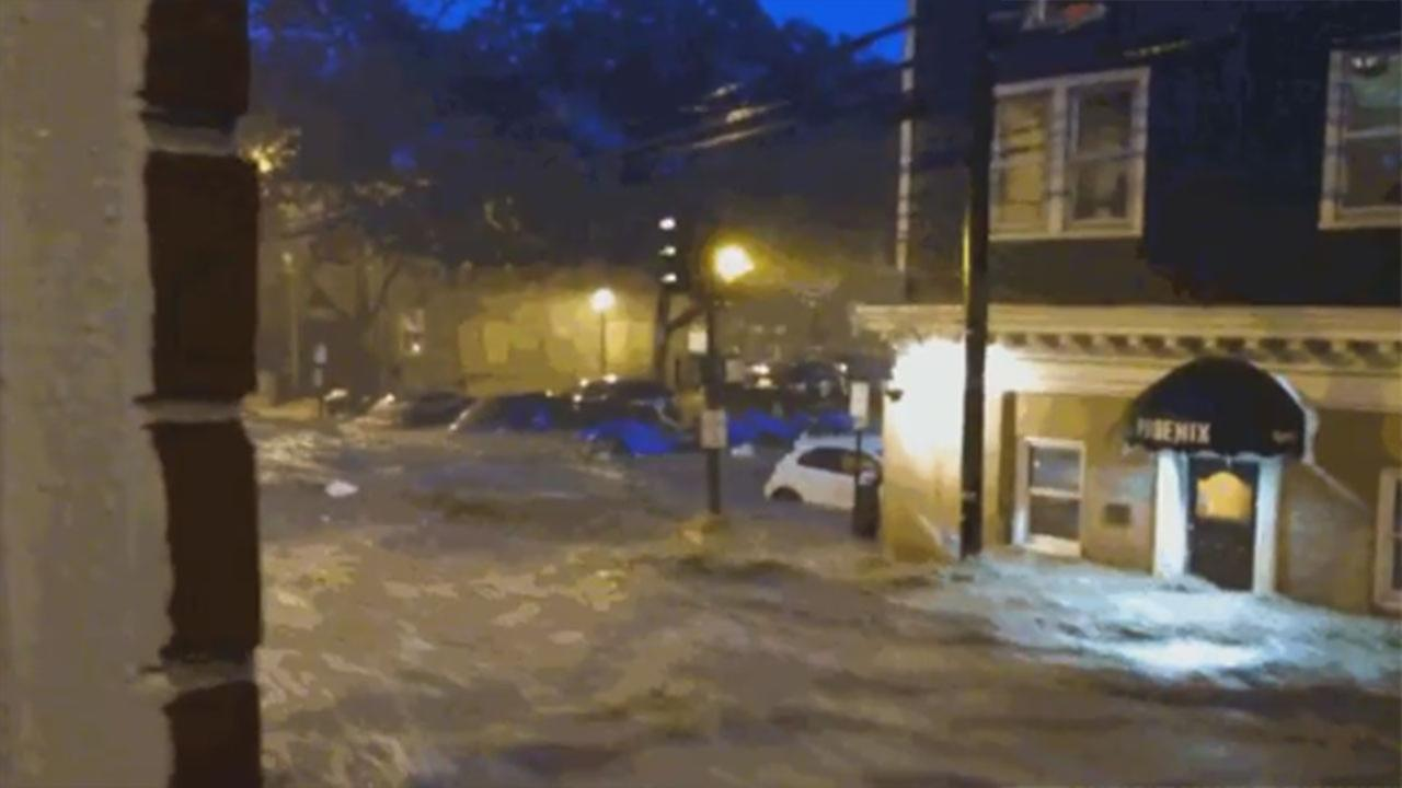 WATCH: Major flash flooding hits Maryland