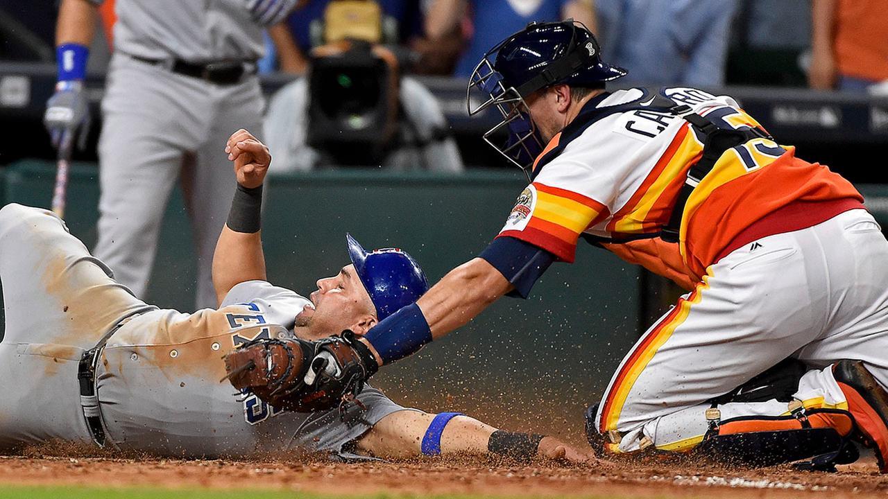 Rangers Astros Baseball