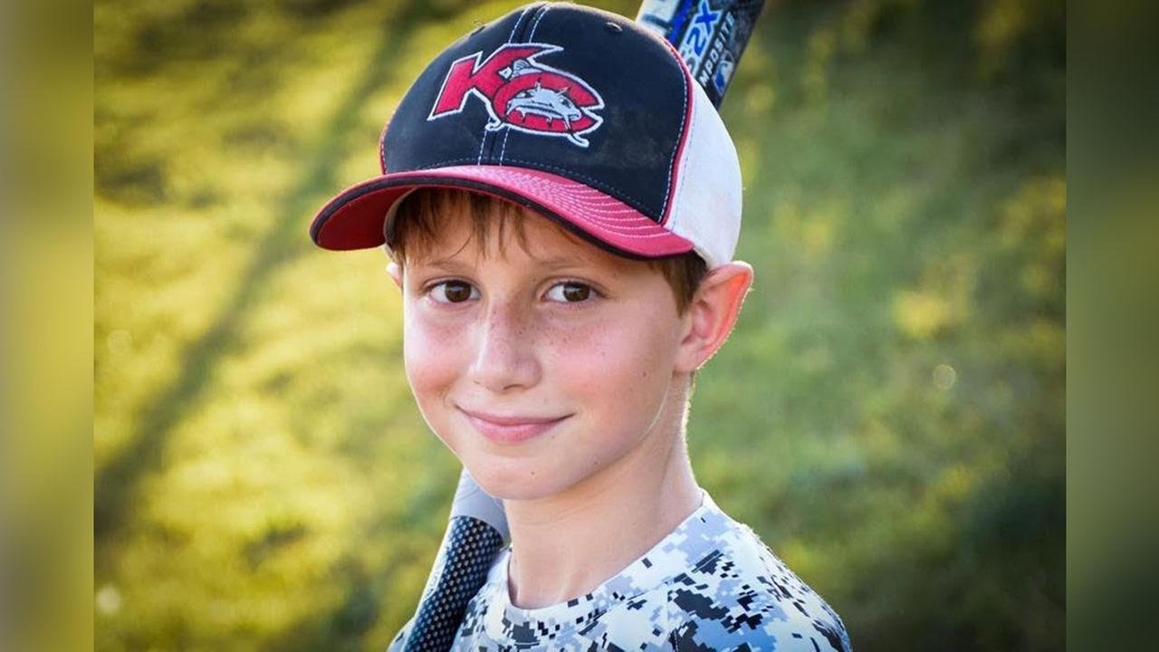 Caleb Thomas Schwab, the son of Kansas Rep. Scott Schwab, died at a Kansas City water park on Sunday.