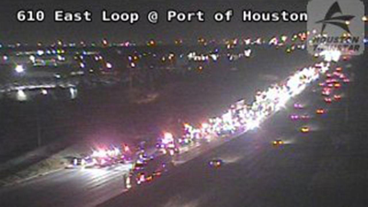 East Loop SB at Clinton slow after accident