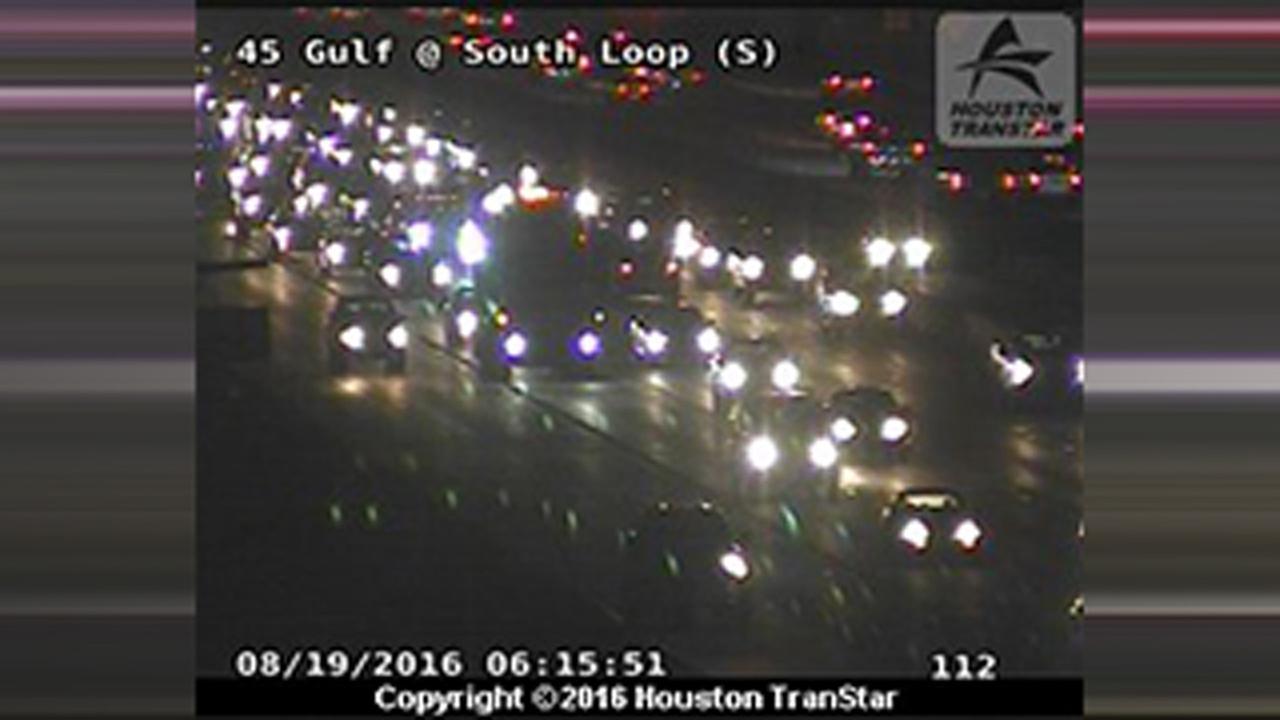 Gulf Freeway accident