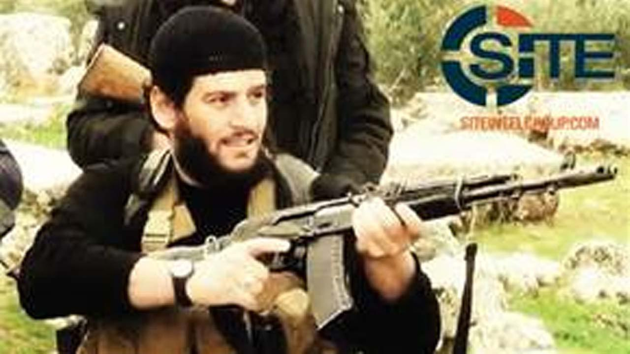 Abu Muhammed al-Adnani, the Islamic State militant groups spokesman who IS say was martyred in northern Syria.