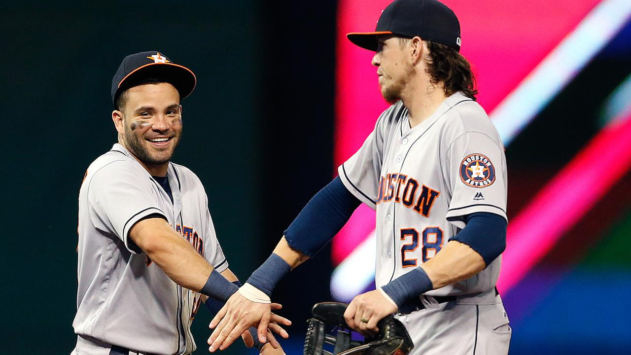 HOUSTON ASTROS - CLEVELAND INDIANS