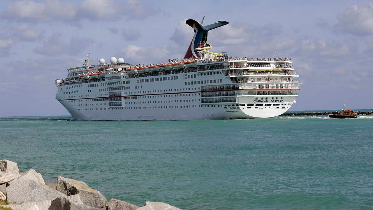 Carnival Cruise Lines ship Ecstasy